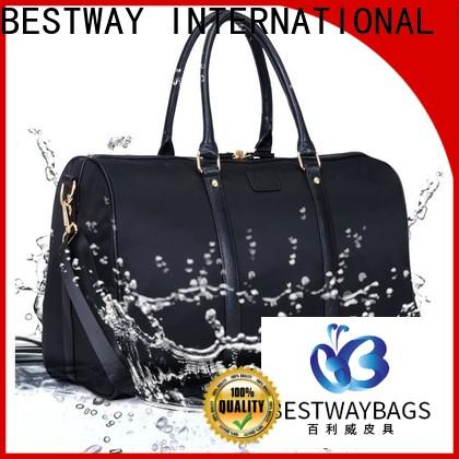 Bestway capacious nylon tote bag with pockets on sale for gym