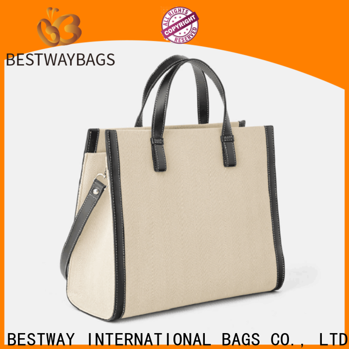 Custom women's canvas tote purse mini Suppliers for vacation