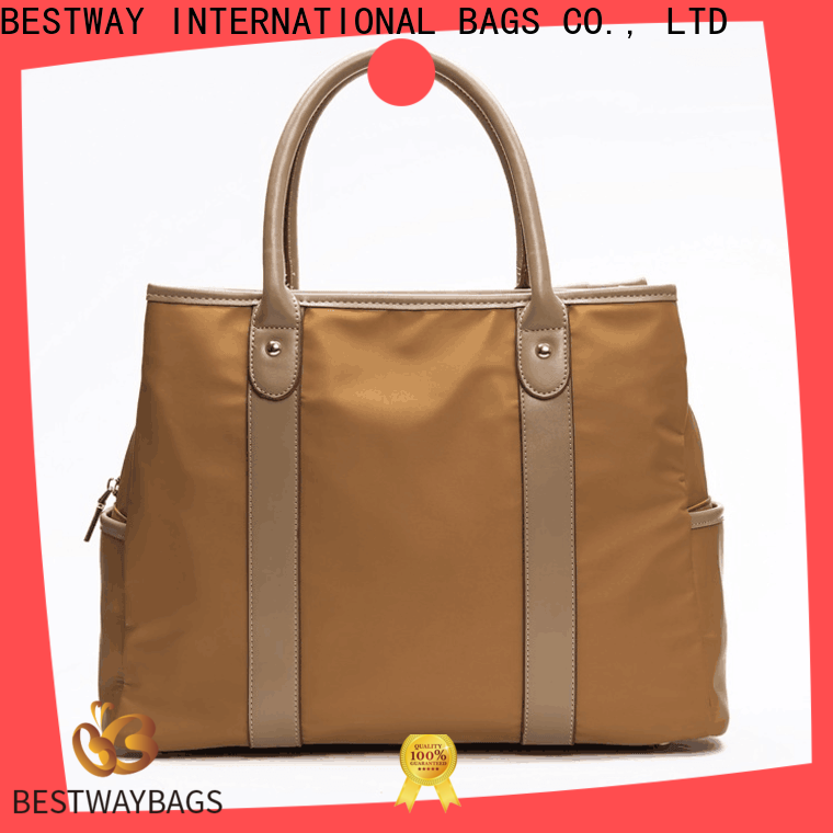 Bestway Top nylon tote bag with shoulder strap for business for bech