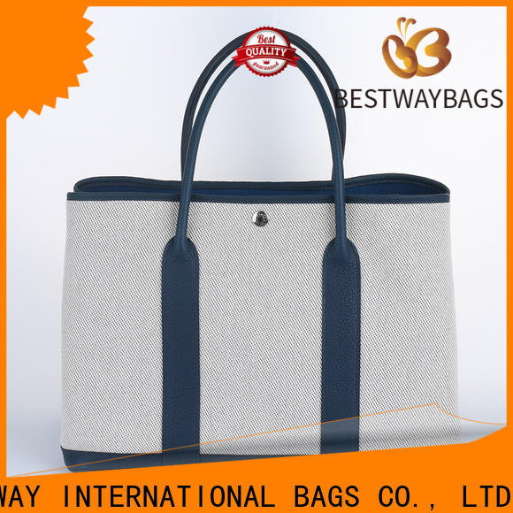 Bestway standard big canvas bag manufacturers for relax