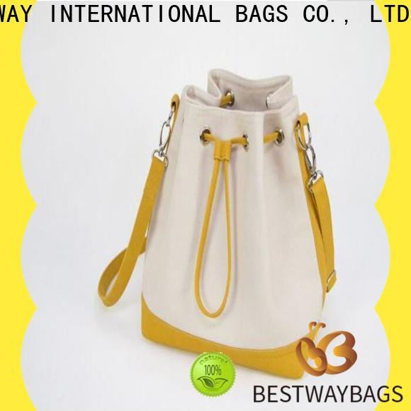 Bestway innovative canvas zip tote bag Suppliers for vacation
