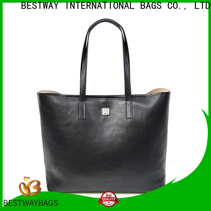 Bestway High-quality nice leather bag wildly for work