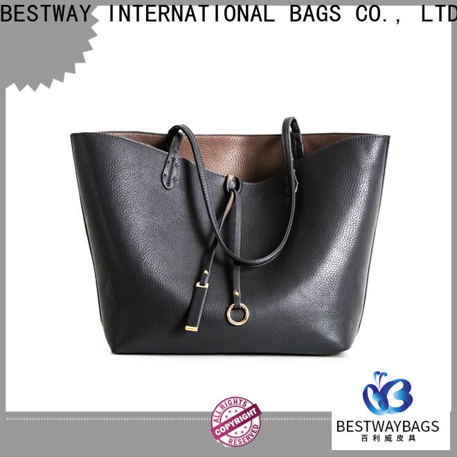 Bestway oversized men's leather purse bags Suppliers