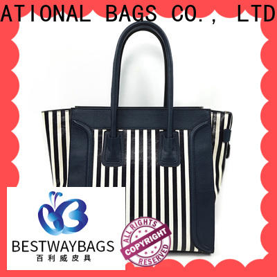Bestway tote canvas bags for sale factory for vacation