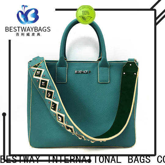 Bestway shopping pu leather bag Chinese for women