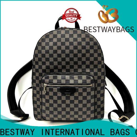 Bestway Best black leather messenger bag Suppliers