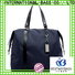 Bestway Custom nylon tote with leather handles on sale for sport