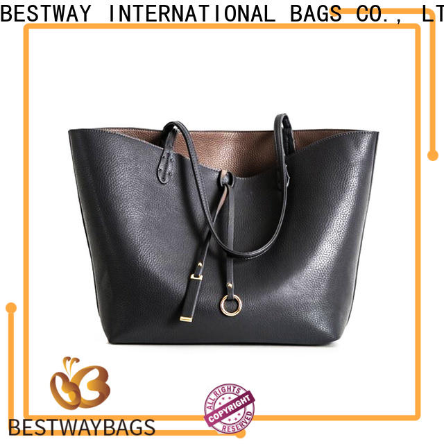 side black leather bags women's handbags wide manufacturer for daily life