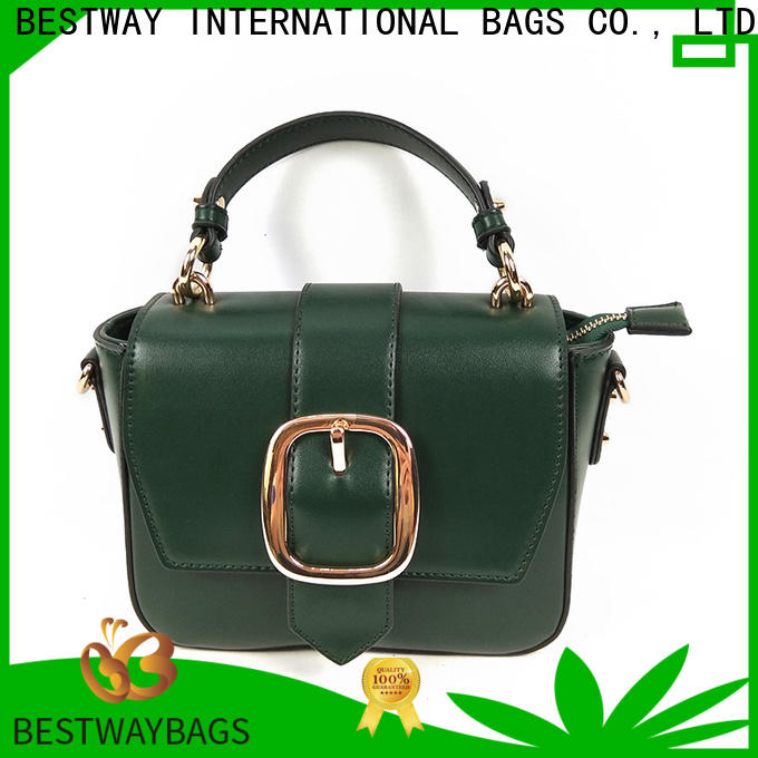Custom is pu leather real leather large factory for lady