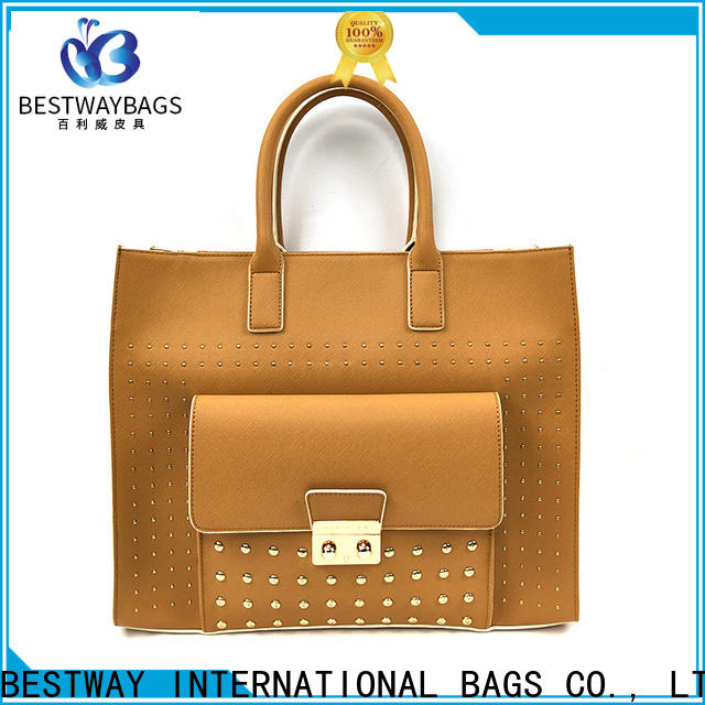 Custom pu leather bag wholesale beautiful Suppliers for girl