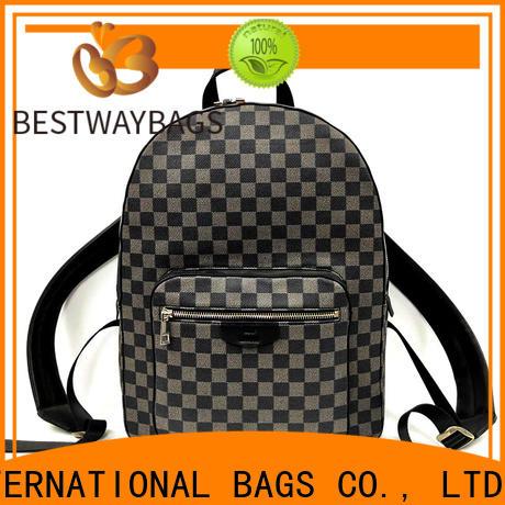 Bestway side womens soft leather handbags factory for school