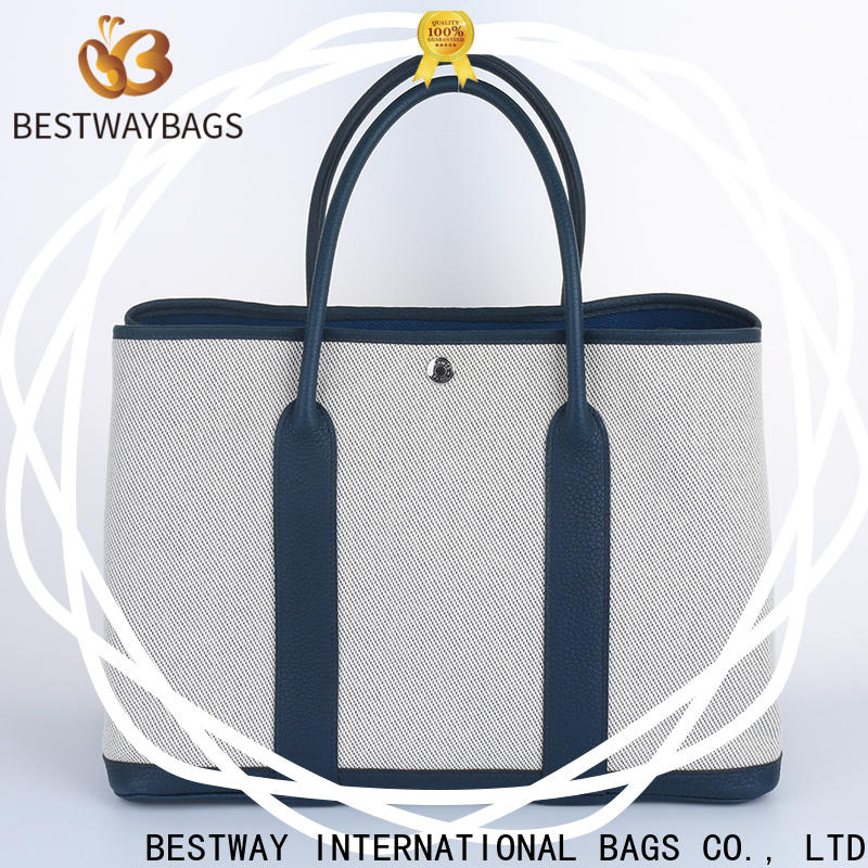 Wholesale canvas bag purse bucket company for vacation