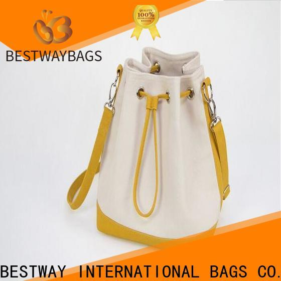 Best fashionable canvas bags bucket wholesale for relax