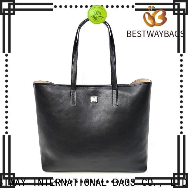Bestway designer black leather purse manufacturer for school