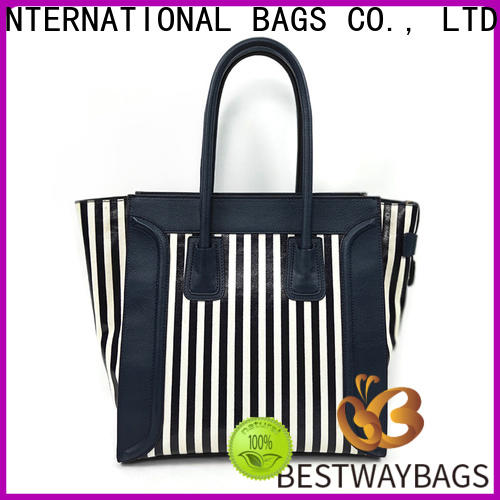 Bestway multi function women's canvas tote factory for shopping