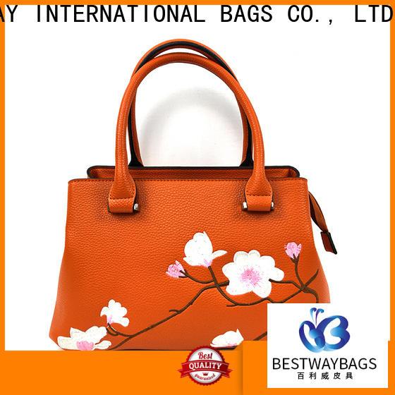 Bestway ladies pu leather shoulder bag Chinese for ladies