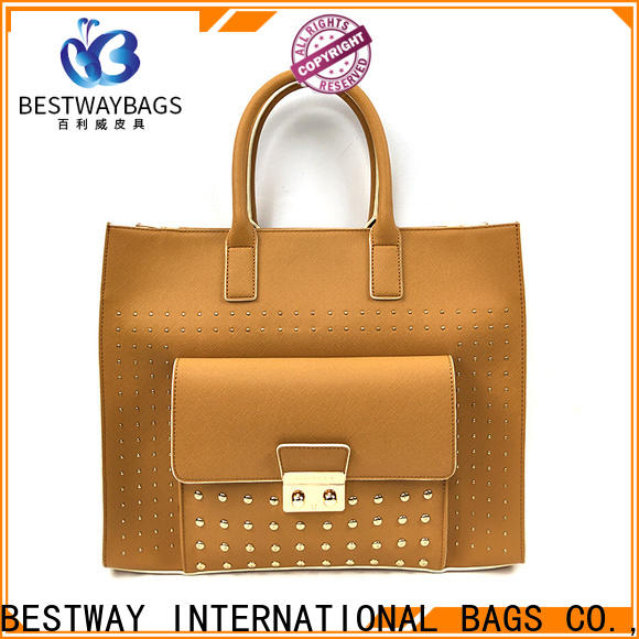 Bestway simple pu leather is Chinese for ladies