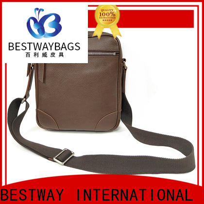 Bestway Latest leather ladies bag price manufacturer for school