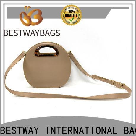 Bestway private black chain bag factory for women