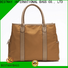 High-quality nylon handbags with leather handles bags personalized for swimming