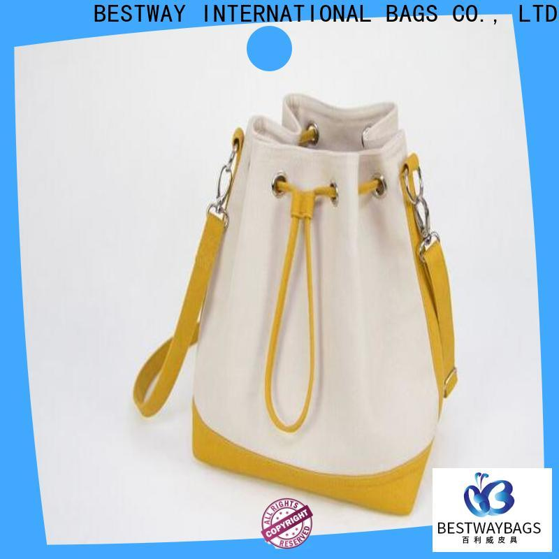 Bestway New canvas tote bags online factory for shopping
