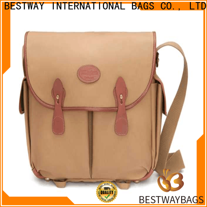 Bestway Custom canvas leather purse manufacturers for travel