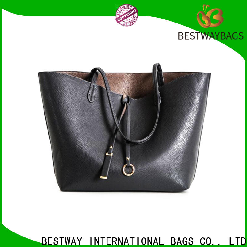 Bestway luxury leather day bag factory for daily life