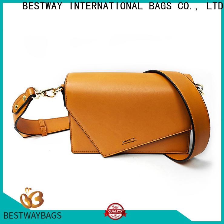 Bestway Bag 100 polyurethane leather luxury supplier for ladies