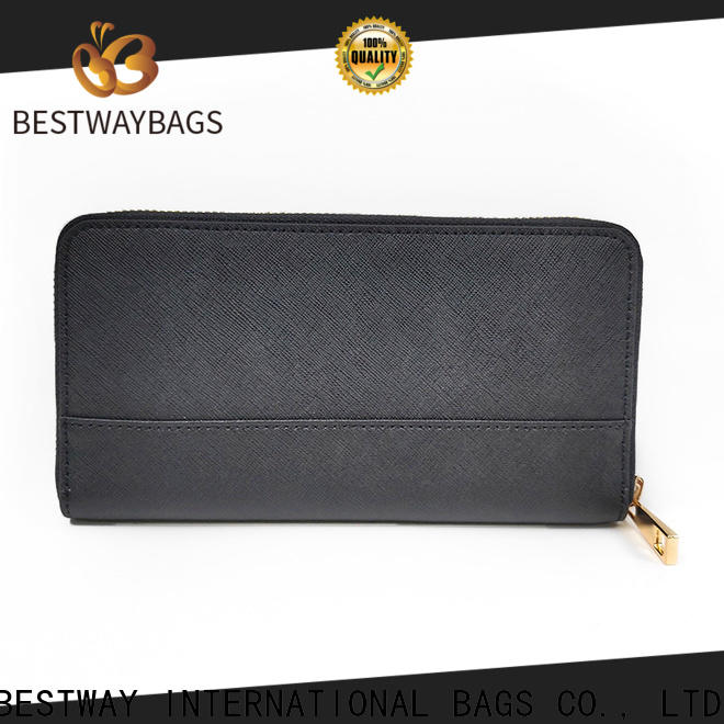 Bestway red authentic leather handbags manufacturer for daily life