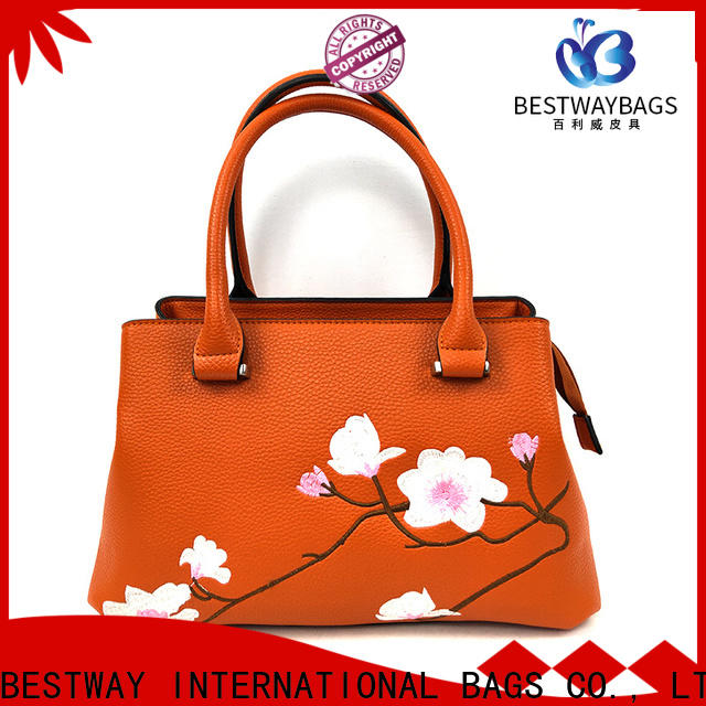 Bestway boutique pu bags china manufacturers for ladies
