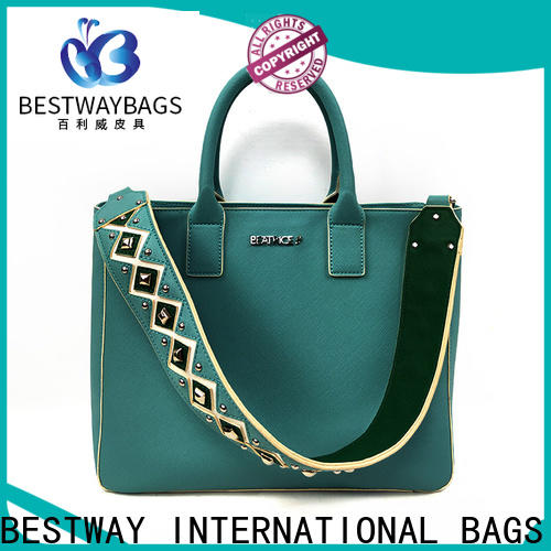 Bestway Latest pebbled leather bag factory for ladies