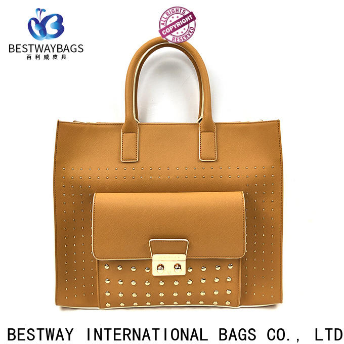 Bestway stylish what is pu bag supplier for girl