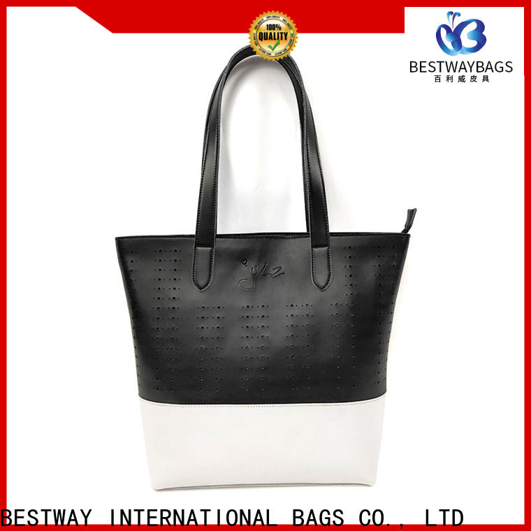 Bestway leather handbag pu Chinese for lady