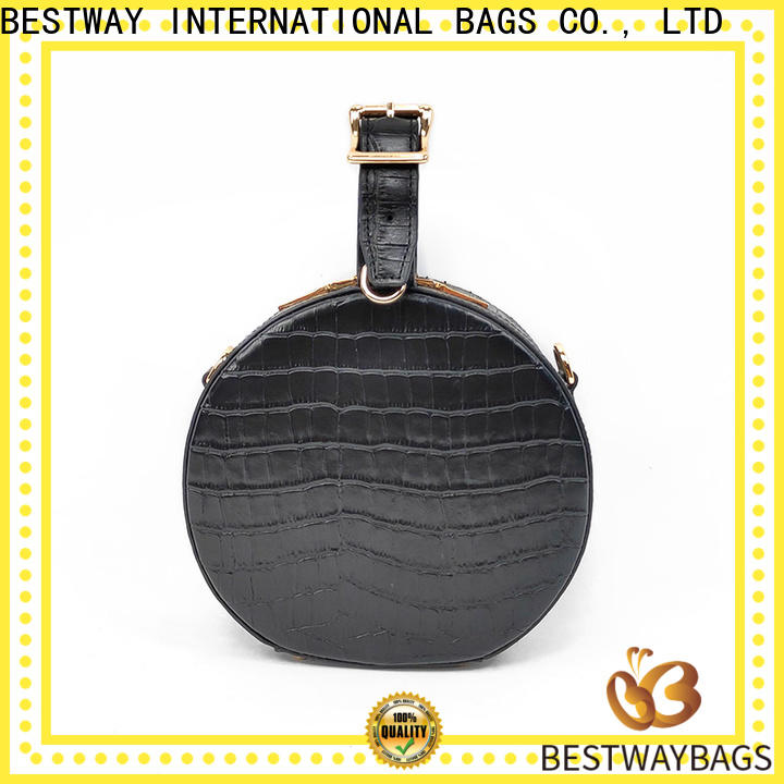 Latest buy leather bag wide online for daily life