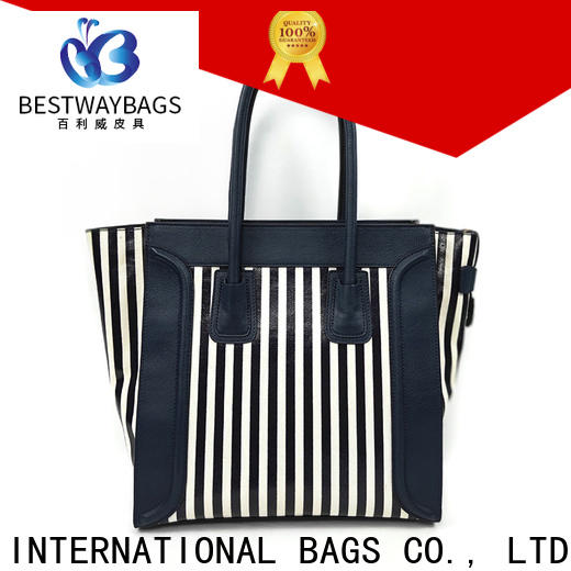 Bestway logo cotton canvas tote bags factory for shopping