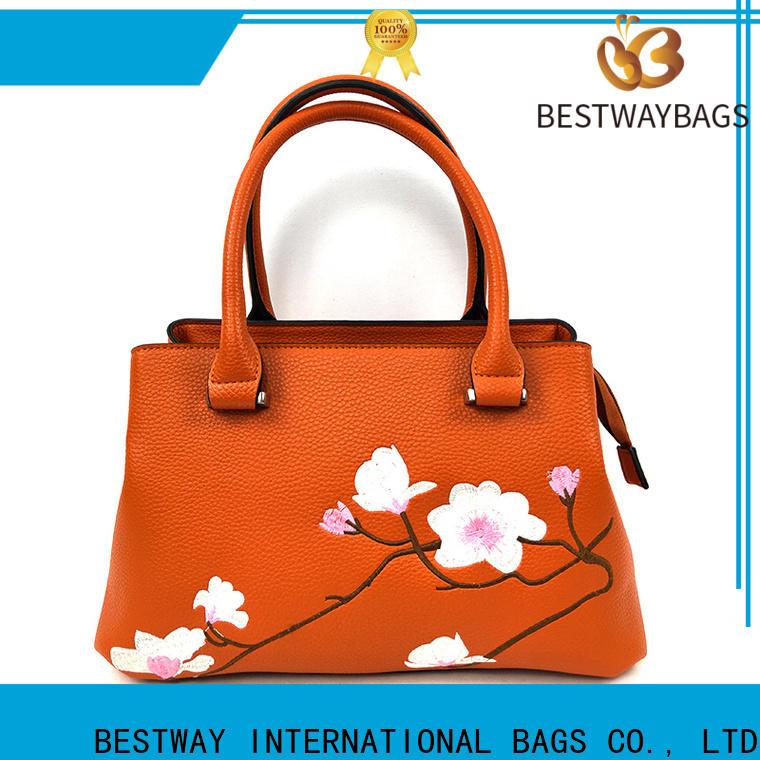 Bestway Custom premium pu leather Supply for women
