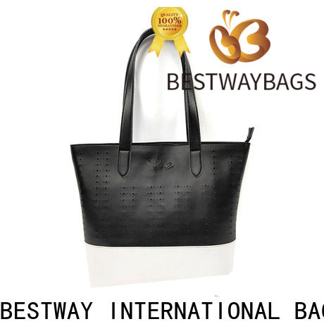 leisure leather bag logo men for business for girl