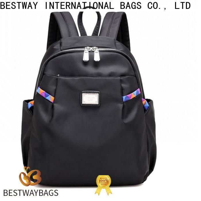Bestway capacious black nylon tote bag women's on sale for gym