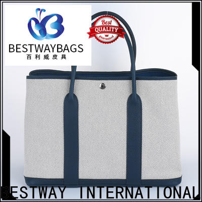 Bestway innovative printed canvas bags factory for shopping