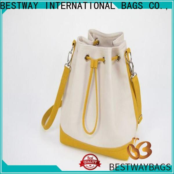 Bestway Wholesale customised canvas bags company for holiday