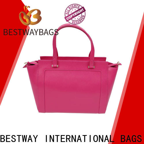 Bestway Latest pu tote company for girl