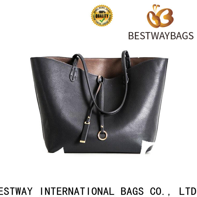 Bestway plain ladies soft leather bags on sale