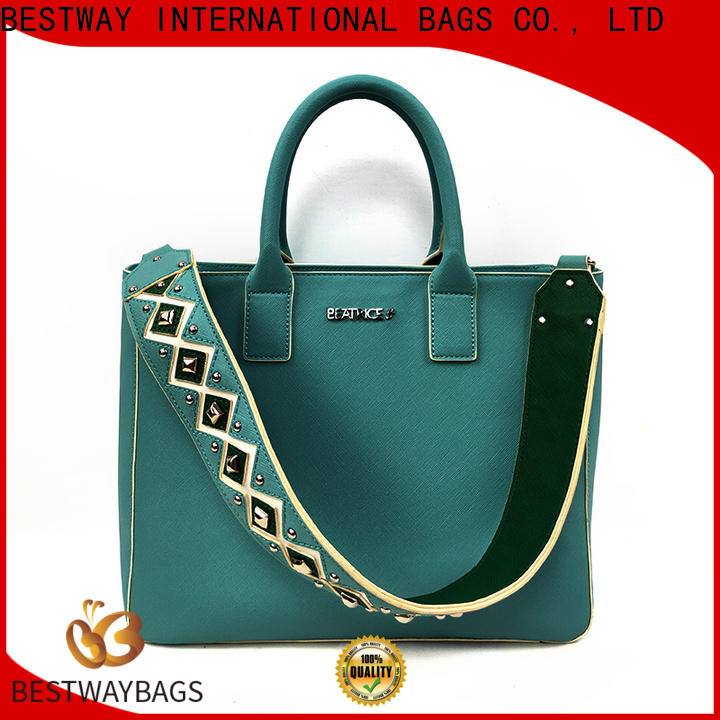 Bestway bags pu material bag for sale for women