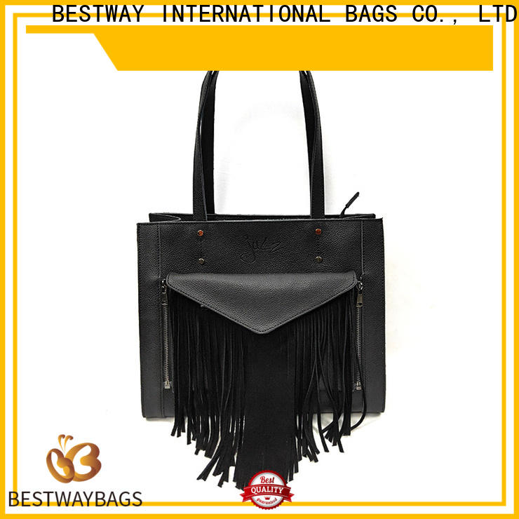 Bestway saffiano leather tote bags Supply for daily life