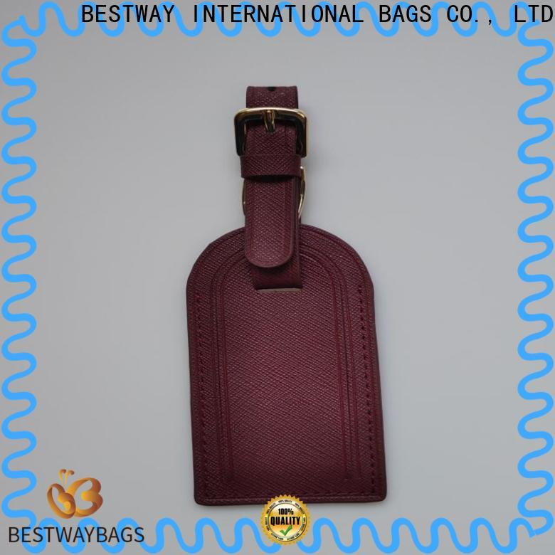 Bestway colorful leather purse charm Supply for bag