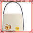 Custom beige canvas tote bag handbags Suppliers for holiday