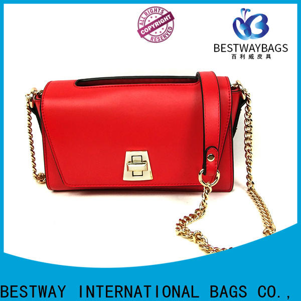 Bestway trendy faux leather vs pu leather Suppliers for ladies