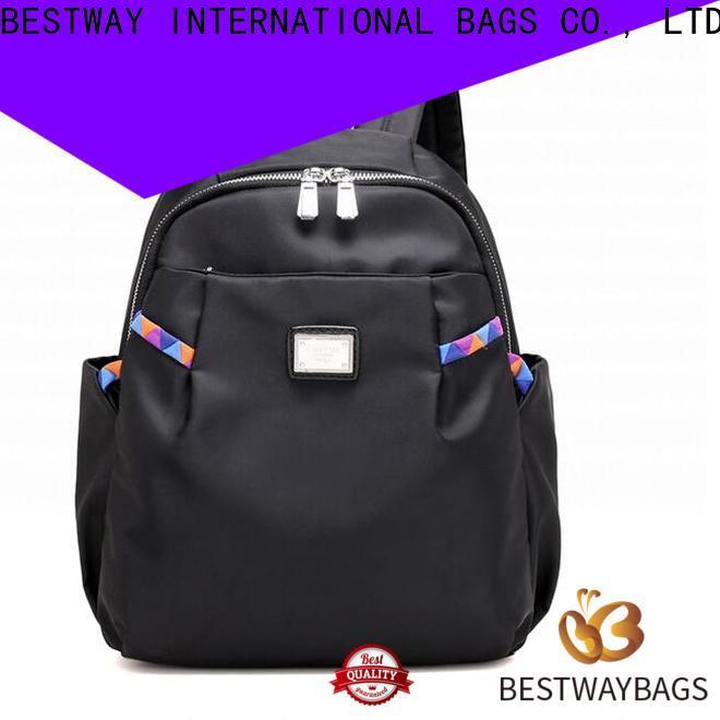 High-quality nylon and leather crossbody bag handbag personalized for gym
