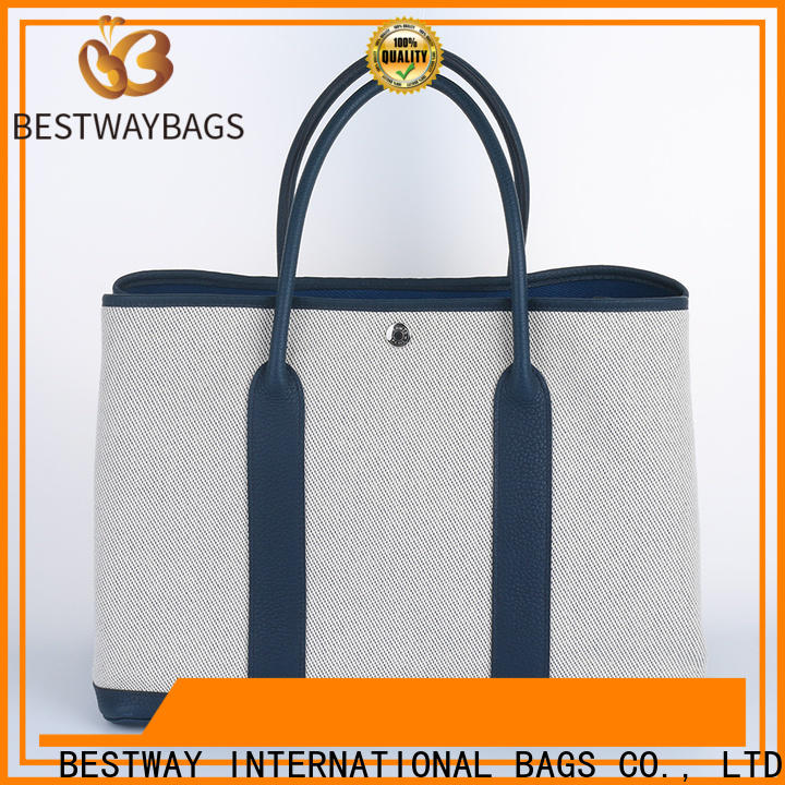 Bestway Top reusable canvas bags factory for travel