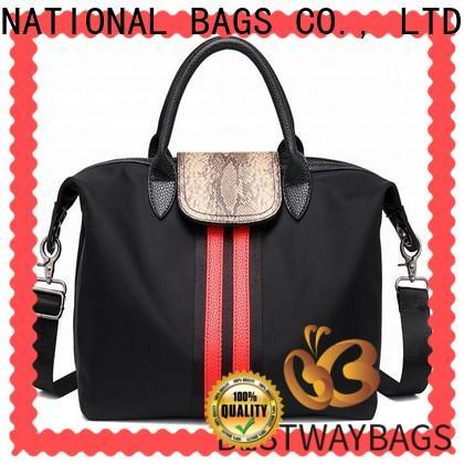 Bestway foldable lightweight nylon handbags Suppliers for sport